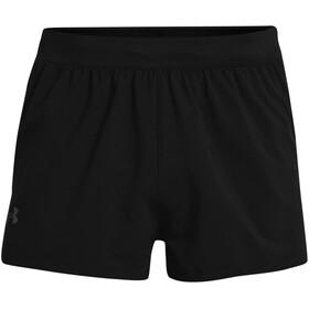 Under Armour Launch SW Split Shorts Men, negro